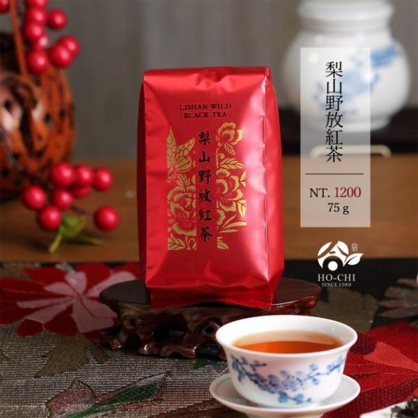 梨山野放紅茶75g 1